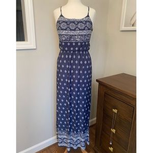 Bandana Print Maxi Dress by Daily Special
